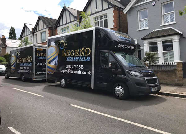 Domestic removals services