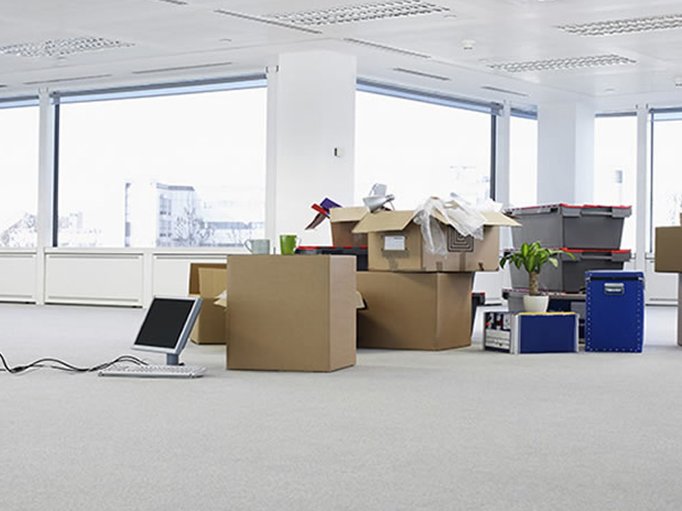Commercial packing services