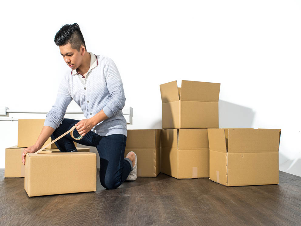 Packing services residential
