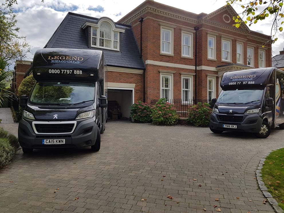 Moving Services with Legend Removals